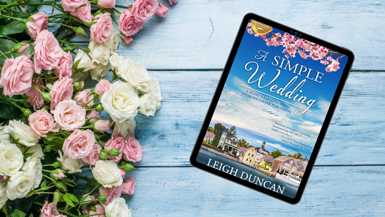A Simple Wedding by Leigh Duncan Hallmark Publishing