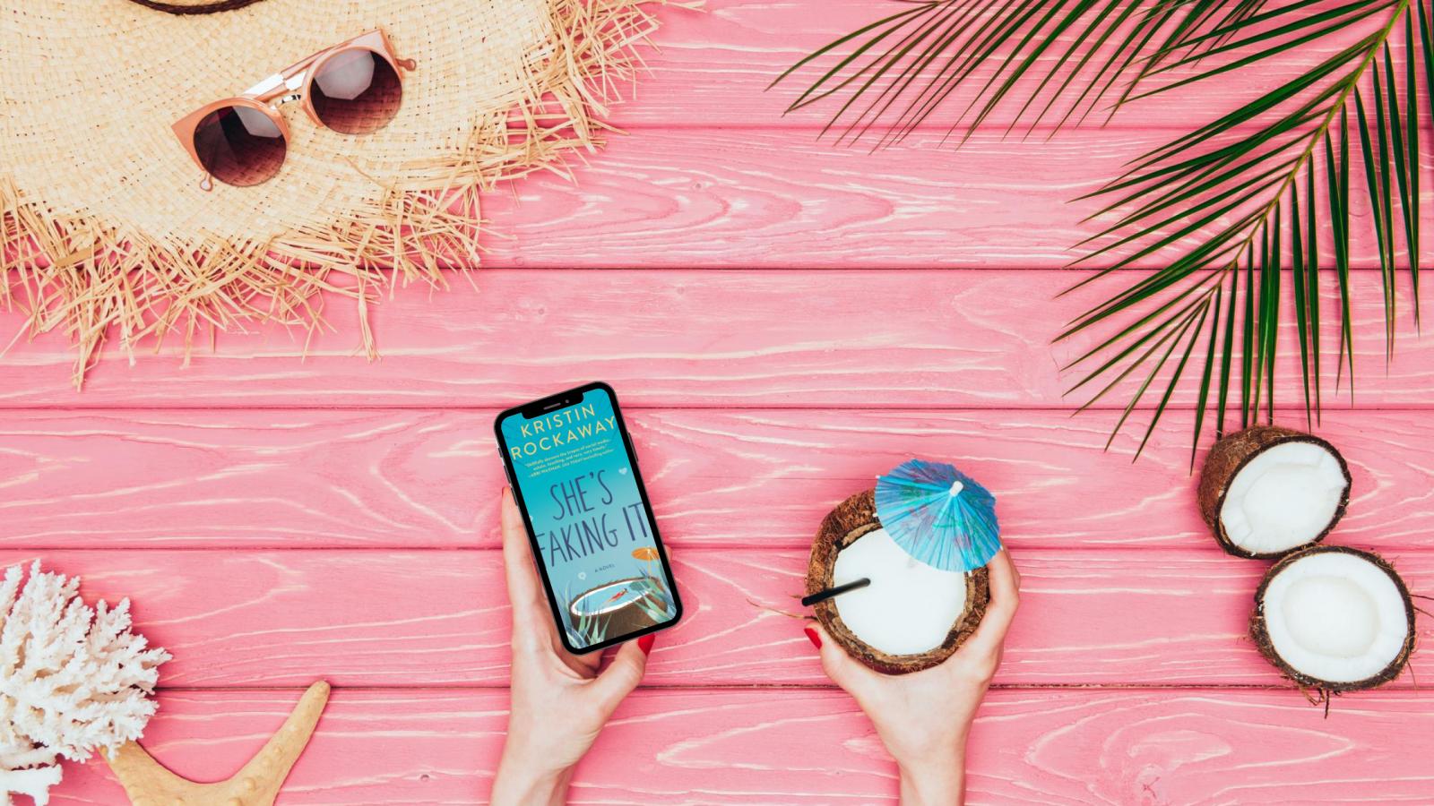 She's Faking It by Kristin Rockaway ebook in tropical setting